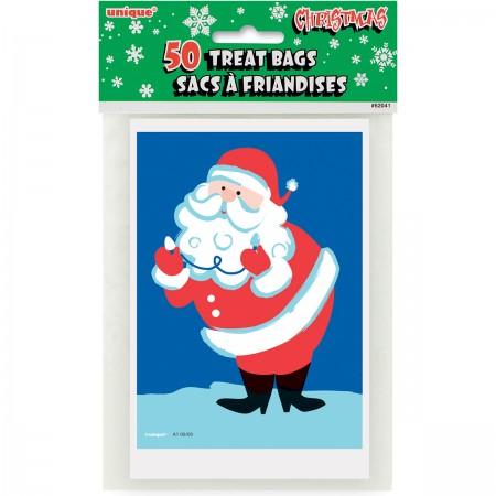 Santa Treat Bags (50)