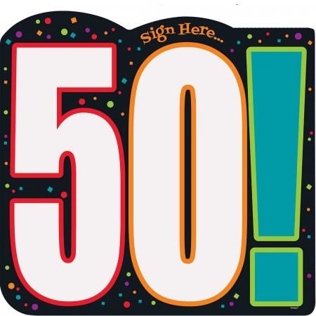 50th Milestone Birthday Sign-In Sheet (1)