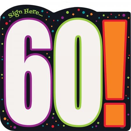 60th Milestone Birthday Sign-In Sheet (1)