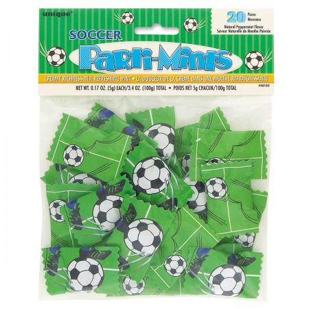 Soccer Party Mints (20)