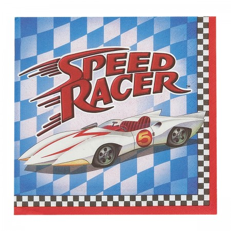 Speed Racer Beverage Napkins (16)