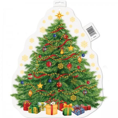 "Starry Christmas Tree Cutout 16.5"" (1)"
