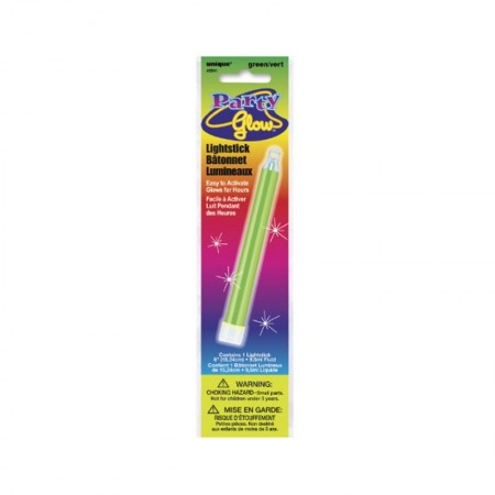 "Green Glow Lightstick 6"" (1)"