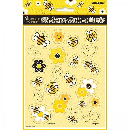 Busy Bees Sticker Sheets (4)