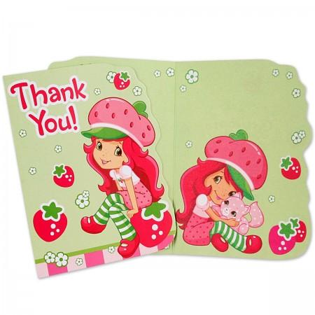 Strawberry Shortcake Thank You Notes (8)