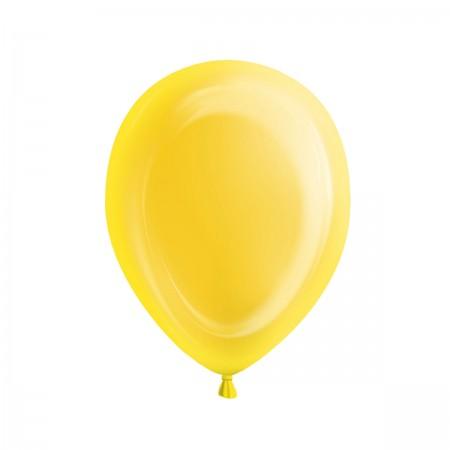 Sunburst Yellow Light-Up Balloons (5)