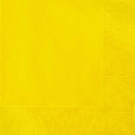 Sunflower Yellow Lunch Napkins (20)