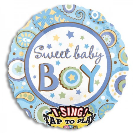 "Sweet Baby Boy Sing-A-Tune 28"" (1)"