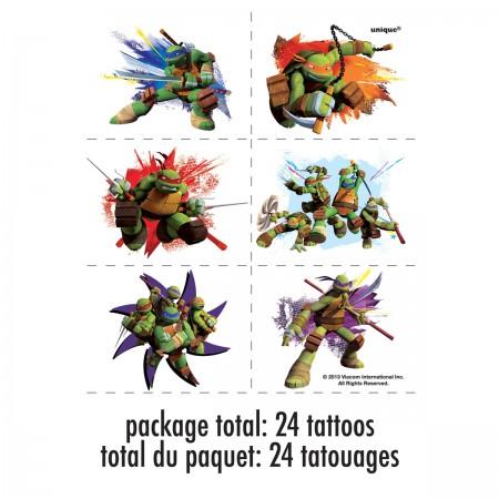 Teenage Mutant Ninja Turtles Tattoos (4)