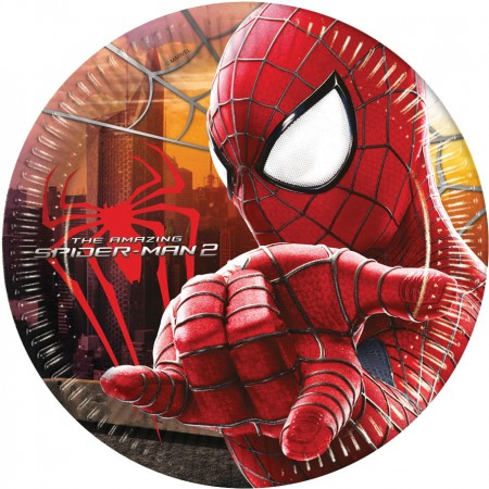 The Amazing Spiderman Lunch Paper Plates (8)