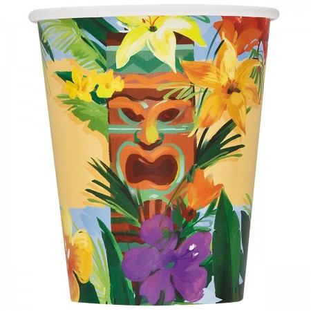 Tiki Tropics Cups (8)