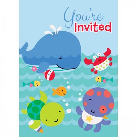 Under The Sea Pals Invitations (8)