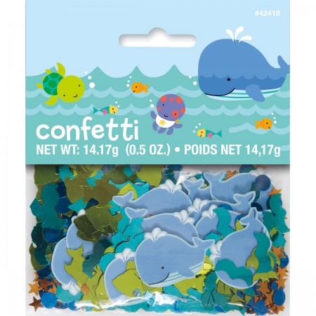Under The Sea Pals Printed Foil Confetti (1)