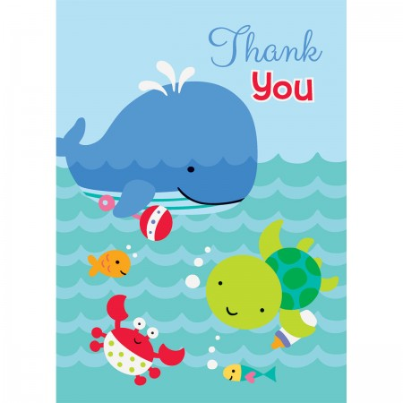 Under The Sea Pals Thank You Notes (8)