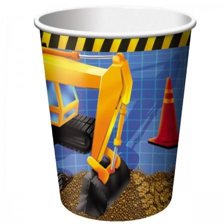 Under Construction Birthday Cups (8)