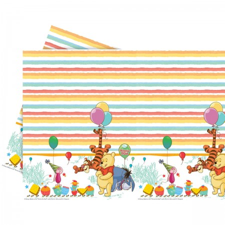 Winnie The Pooh Plastic Tablecover  (1)