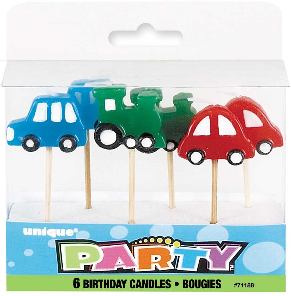 Move Your Mouse Over Image Car Pick Birthday Candles