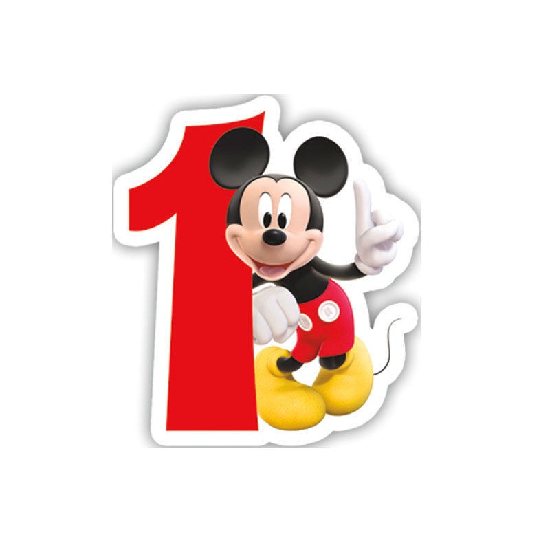 comes in any number you like Minnie mouse glitter birthday number candle