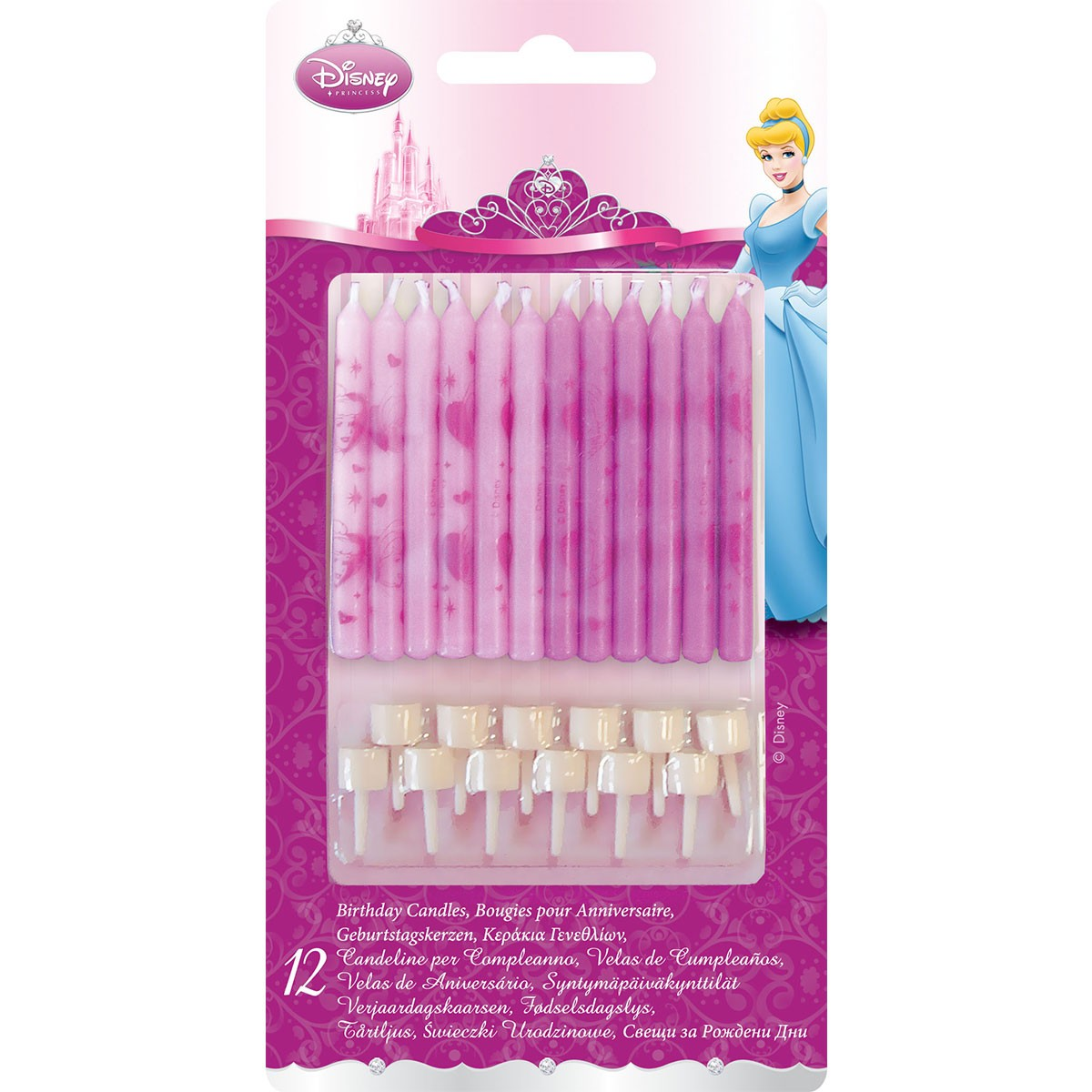 Move Your Mouse Over Image Disney Princess Birthday Candles
