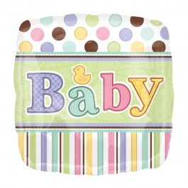 Baby Dots Foil Balloon (1)