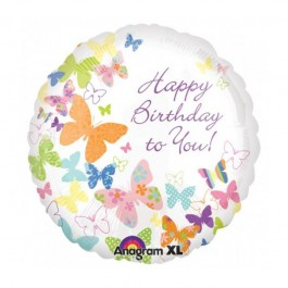 Birthday Butterflies Foil Balloon (1)