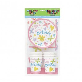 Garden Girl Party Pack for 8 (1)