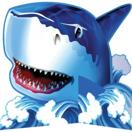 Shark Splash Centerpiece (1)
