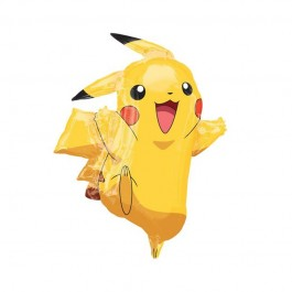 "Pikachu Shape Foil Balloon 31"" (1)"