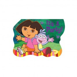Dora It's A Party Invites (8)
