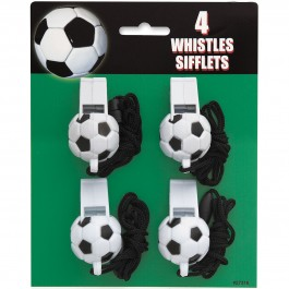 Soccer Ball Whistles (4)