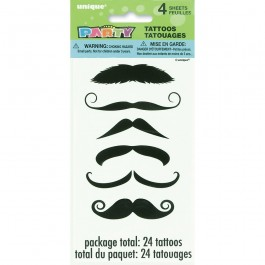 Mustache Tattoo Sheets (4)