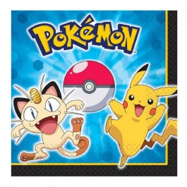Pokemon Lunch Napkins (16)