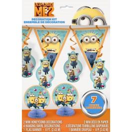 Despicable Me Minion Party Decoration Kit (1)
