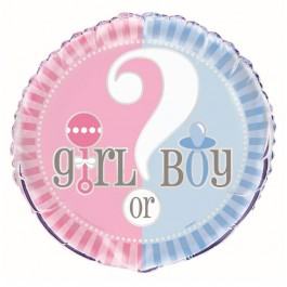 Gender Reveal Foil Balloon (1)