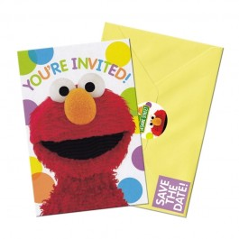 Sesame Street Invites (8)