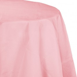 Pastel Pink Round Table Cover (1)
