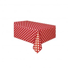 Red Dot Table Cover (1)