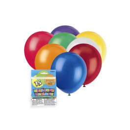 Balloons Assorted Colors (15)