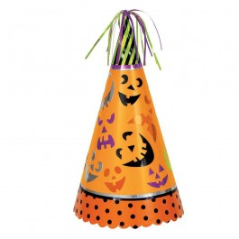 Pumpkin Faces Jumbo Halloween Party Hat  (1)