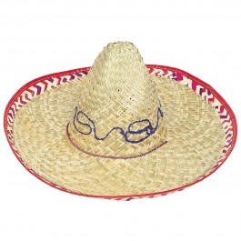 Adult Sombrero with Checker Trim (1)