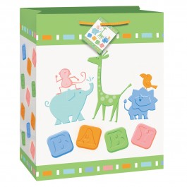 Animal Crackers Baby Shower Gift Bag (1)