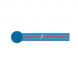 Avengers Printed Crepe Streamer (1)