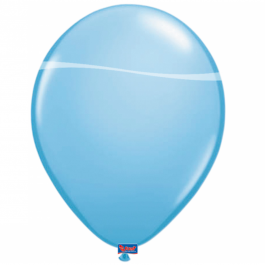 Baby Blue Latex Balloons (15)