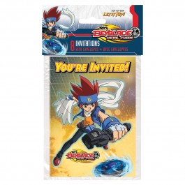 Beyblade Birthday Invitations (8)
