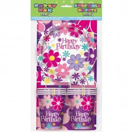 Birthday Blossom Party Pack for 8 (1)
