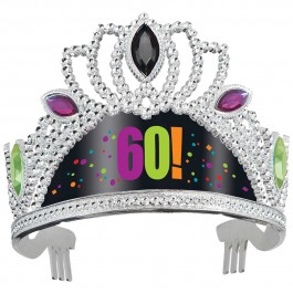60th Milestone Birthday Tiara (1)