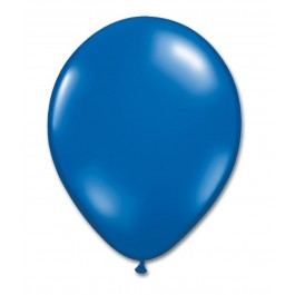 Blue Latex Balloons (100)