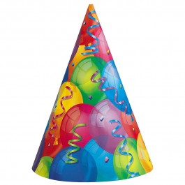 Brilliant Balloons Party Hats (8)