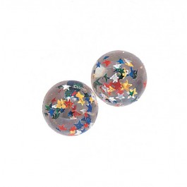 Clear Stars Bounce Balls (12)