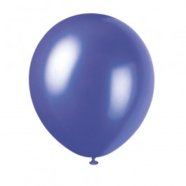 Concord Purple Pearlized Latex Balloons (10)